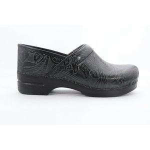 Shoes - Dansko  Tooled Black Clog  Size  42 ( EPB) 4015